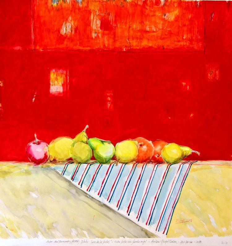 Autor: Asfer - Serie: Las Frutas