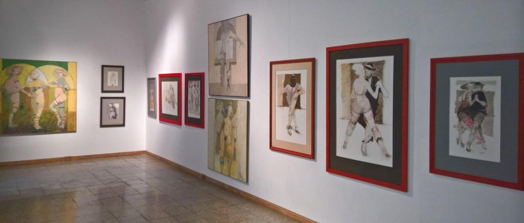 """Sección de las figuras: Serie """"Desnudos"""" y """"Tango"""""""