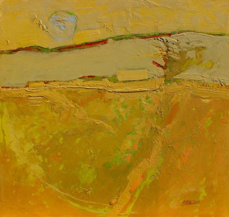 Otoñal - acrílico - 63x60 cm - 2020