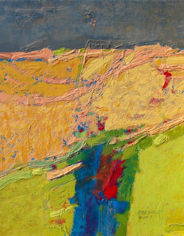 Flores del valle - acrílico - 60x70 cm - 2020