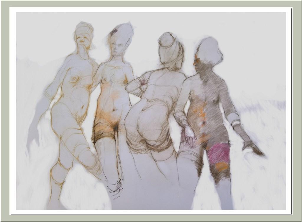 Desnudo-4 mujeres - Mixta - 2018