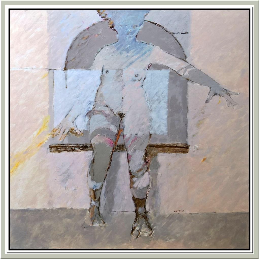 Desnudo y arco - 1994