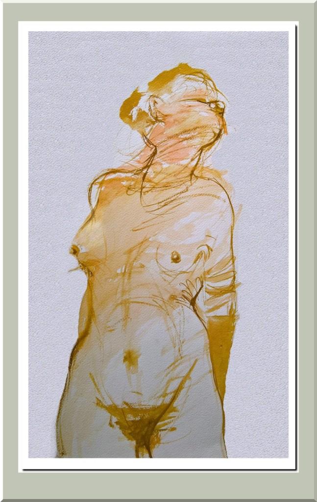 Torsión-desnudo - Aguada - 1997